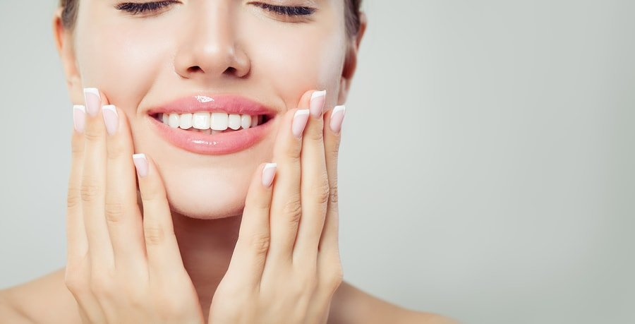 Cosmetic Dentistry with a beautiful smile